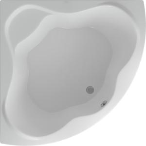 Акриловая ванна Акватек Галатея 135x135 каркас, экран, слив-перелив (GAL135-0000022)