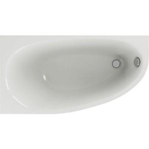 Акриловая ванна Акватек Дива 150x90 левая, на каркасе (DIV150-0000001, KAR-0000042)