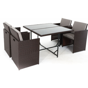 Комплект для отдыха Vinotti F8039 (стол+4 кресла)