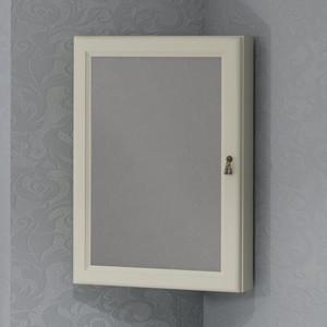 Зеркальный шкаф Opadiris Клио 45 угловой, левый, слоновая кость 1013 (00-00000221)