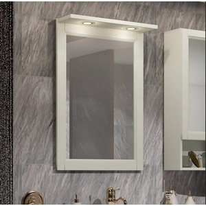 Зеркало Opadiris Клио 56 слоновая кость 1013 (00-00000429)