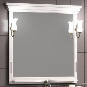 Зеркало Opadiris Риспекто 95 с светильниками, беленый бук (Z0000004917 + 00000001041)