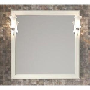 Зеркало Opadiris Санрайз 90 с светильниками, слоновая кость 1013 (Z0000006353 + Z0000006243)
