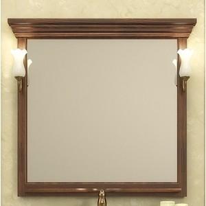 Зеркало Opadiris Риспекто 105 с светильниками, нагал P46 (Z0000000694 + 00000001041)