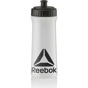 Бутылка для воды Reebok RABT11003CLBK 500 ml (прозр-черн) цена 2017
