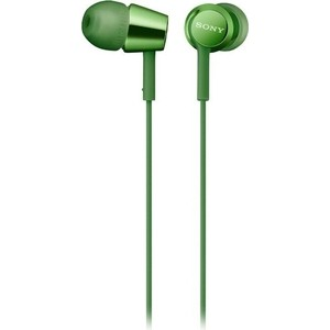 Наушники Sony MDR-EX155AP green