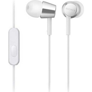 Наушники Sony MDR-EX155AP white цена