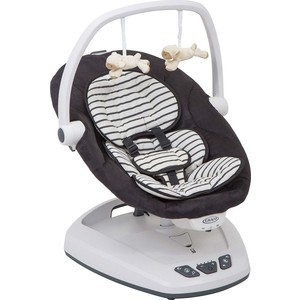 Электрокачели Graco MOVE WITH ME BRETON STRIPE 1AH52BTSE