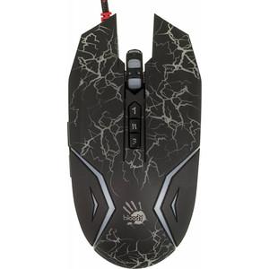 Мышь A4Tech Bloody N50 Neon Black мышь a4tech bloody n50 neon white usb