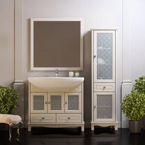 Мебель для ванной Opadiris Омега 90 слоновая кость 1013