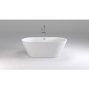 Акриловая ванна Black&White Swan 170x80 каркас, слив-перелив push-open (103SB00)