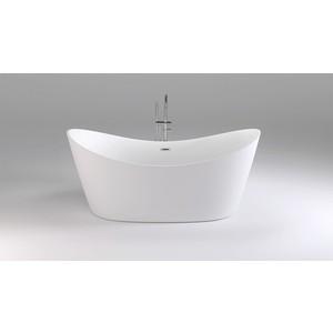 Акриловая ванна Black&White Swan 180x80 каркас, слив-перелив push-open (104SB00)