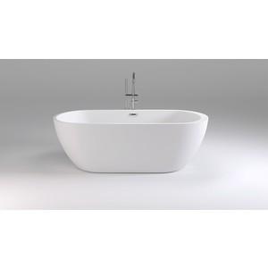 Акриловая ванна Black&White Swan 170x80 каркас, слив-перелив push-open (105SB00)