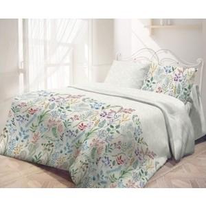 Комплект постельного белья Самойловский текстиль семейный Гербарий (721093) комплект постельного белья самойловский текстиль семейный хлопок наволочки 70х70