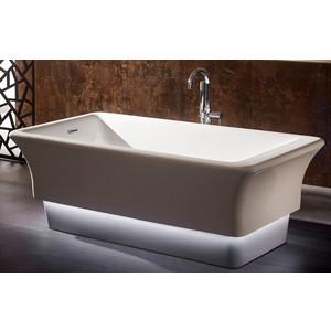 Акриловая ванна Abber 168x85 отдельностоящая, с подсветкой (AB9221)