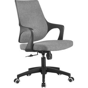 Кресло Riva Chair RCH 928 пластик черный кашемир серый