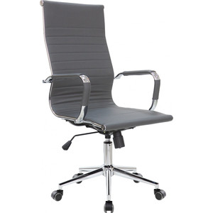 Кресло Riva Chair RCH 6002-1S серый (Q-02)
