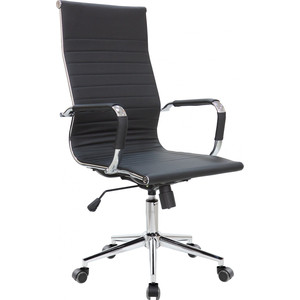 Фото - Кресло Riva Chair RCH 6002-1S черный (Q-01) 6002 pink