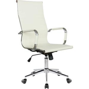 Фото - Кресло Riva Chair RCH 6002-1S светлый беж (Q-07) 6002 pink