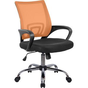Кресло Riva Chair RCH 8085JE оранжевый/крестовина хром