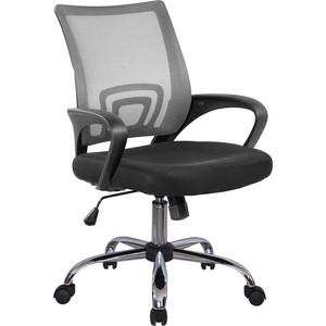 Кресло Riva Chair RCH 8085JE серый/крестовина хром