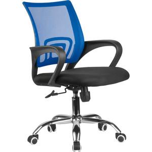 Кресло Riva Chair RCH 8085JE синий/крестовина хром