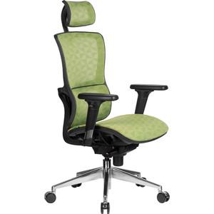 Кресло Riva Chair RCH A8 пластик черный/сетка зеленая