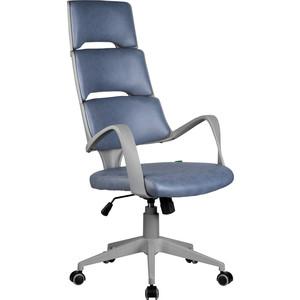 Кресло Riva Chair RCH Sakura серый пластик, ткань фьюжн Альпийское озеро (189)