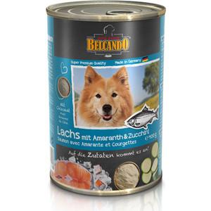 Консервы Belcando Adult Dog Salmon, Amaranth and Zucchini с лососем, амарантом и цукини для собак 400г фото
