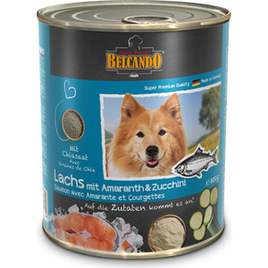 Консервы Belcando Adult Dog Salmon, Amaranth and Zucchini с лососем, амарантом и цукини для собак 800г