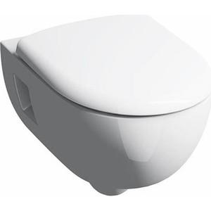 Унитаз подвесной Geberit Renova Premium Rimfree, с сиденьем микролифт (203070000, 573025000) фото