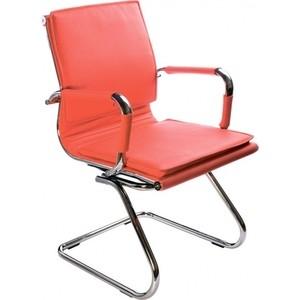 Кресло Бюрократ CH-993-Low-V/Red низкая спинка красный искусственная кожа