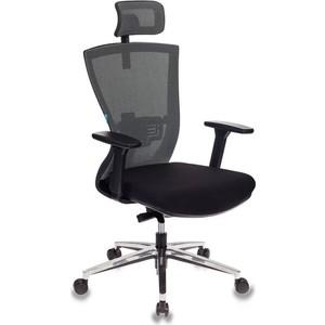 Кресло руководителя Бюрократ MC-815-H/LG/FB01 спинка сетка светло-серый сиденье черный крестовина алюминий