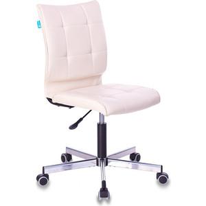 Кресло Бюрократ CH-330M/BEIGE без подлокотников бежевый сиденье искусственная кожа крестовина металл