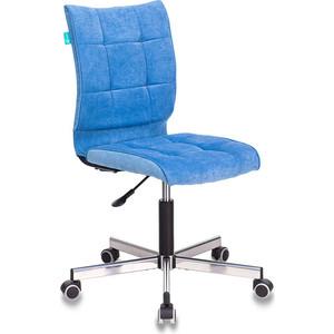 Кресло Бюрократ CH-330M/VELV86 голубой Velvet 86 крестовина металл