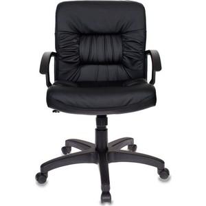 Кресло Бюрократ KB-7/BLACK черный искусственная кожа цена