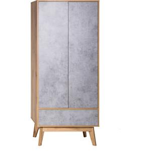 Шкаф 2-х дверный Принцесса Мелания Хелен 2213.М1 бетон чикаго