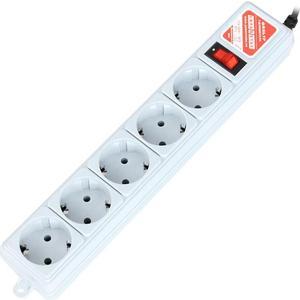 Сетевой фильтр Power Cube SPG-B-15 5м. 5 розеток, белый сетевой фильтр power cube spg 5 1 16b 1 9м белый 6 розеток 1 9 м