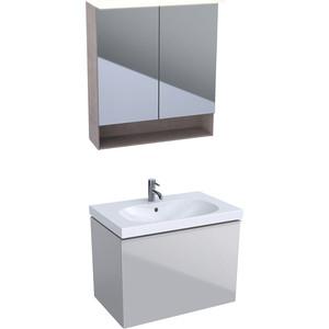 Мебель для ванной Geberit Acanto 75 песчаный матовый
