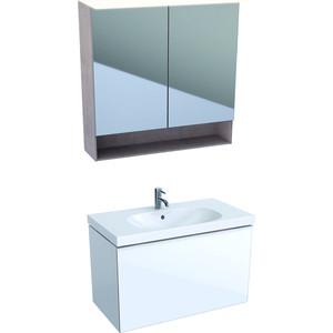 Мебель для ванной Geberit Acanto 90 белый глянец
