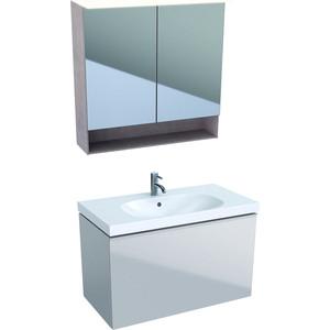 Мебель для ванной Geberit Acanto 90 песчаный матовый