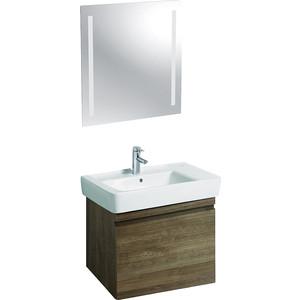 Мебель для ванной Geberit Renova Plan 75 натуральный дуб