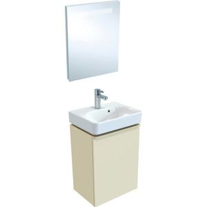 Мебель для ванной Geberit Smyle Square 45 песчаный глянец, левый