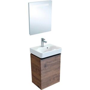 Мебель для ванной Geberit Smyle Square 45 пекан, левый