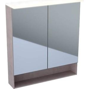 Зеркальный шкаф Geberit Acanto 75 дуб мистик (500.645.00.2)