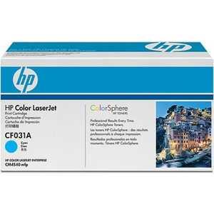 Картридж HP cyan CM4540 (CF031A) картридж струйный hp c9391ae n 88xl cyan with vivera ink