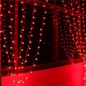 Светодиодный занавес со статическим свечением Uniel ULD-C2030-240/SWK RED IP67