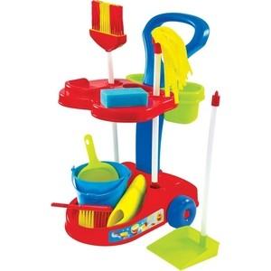 Игровой набор Mochtoys Набор в тележке маленькая помощница