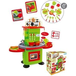 Игровой набор Mochtoys Кухня 78см с столиком,светом и звуком+27 предметов фото