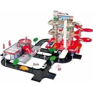 Игровой набор Mochtoys Парковка+сервисный центр